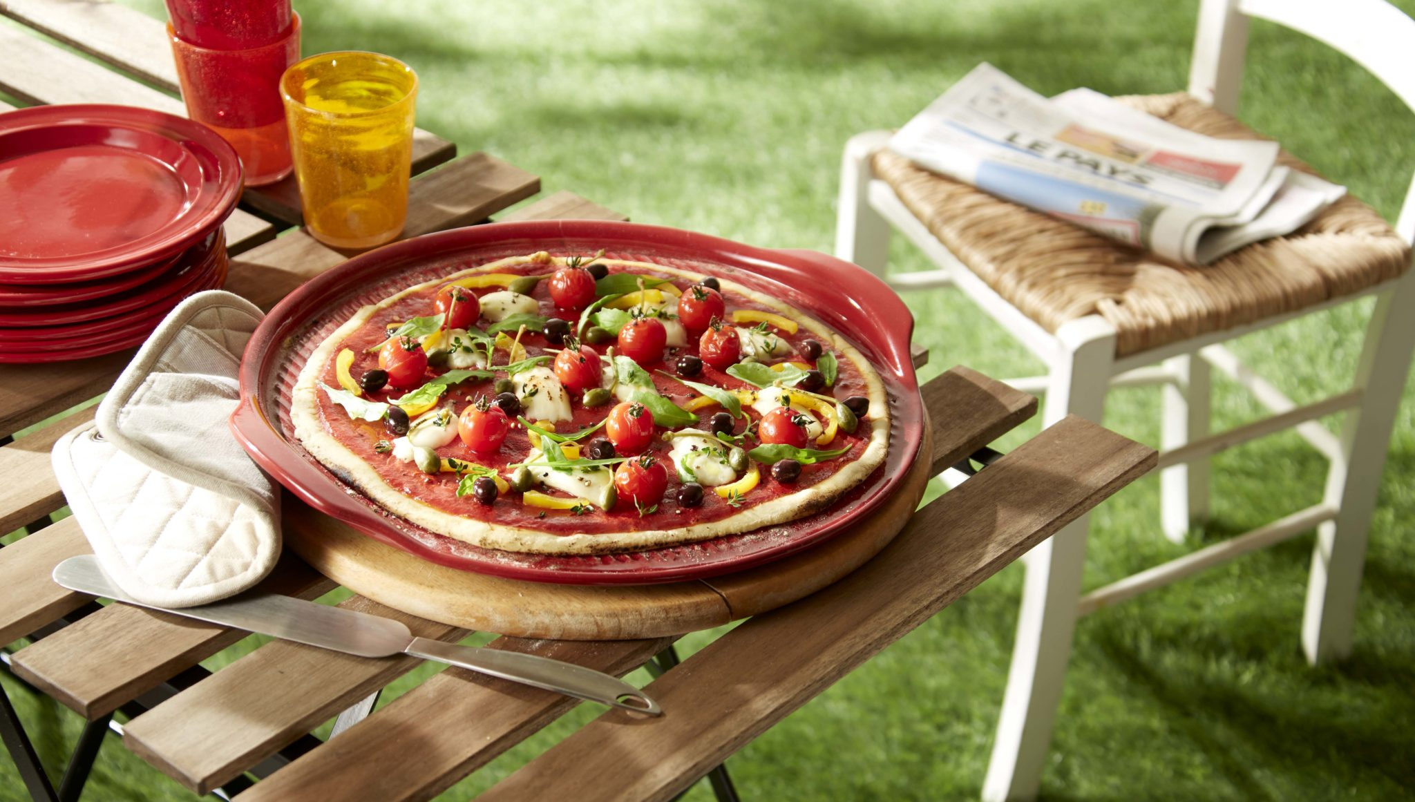 pizza stone emile henry