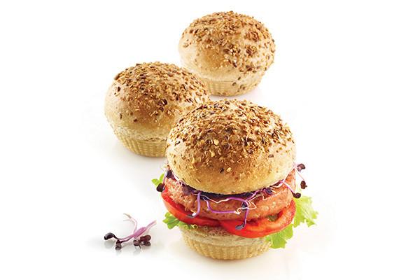 stampo burger bread 3d