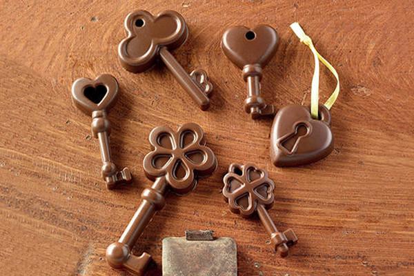 stampo choco keys