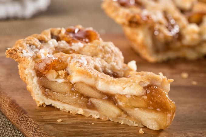 crostata mele caramellate
