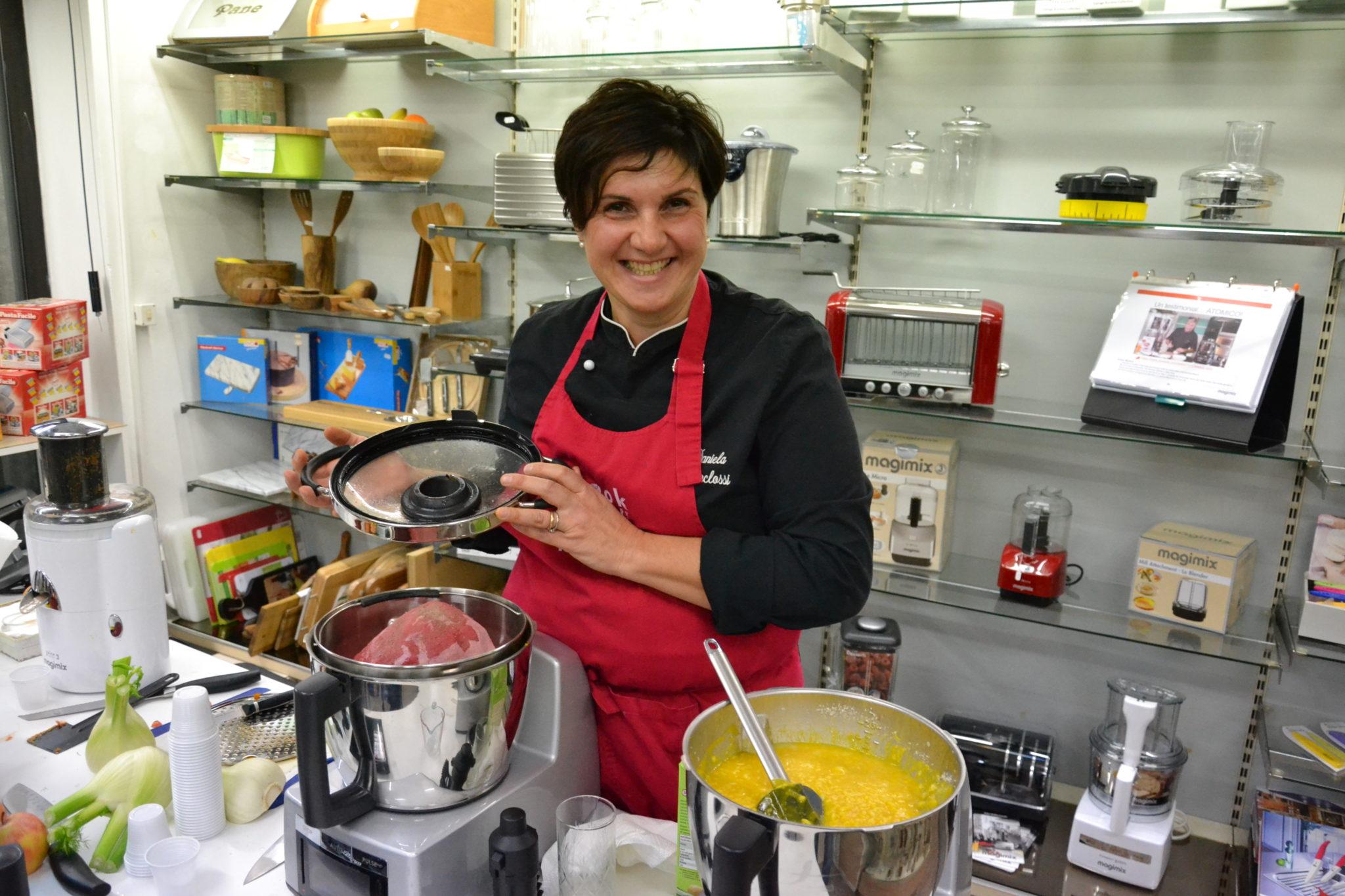 Chef Daniela Menclossi & Magimix