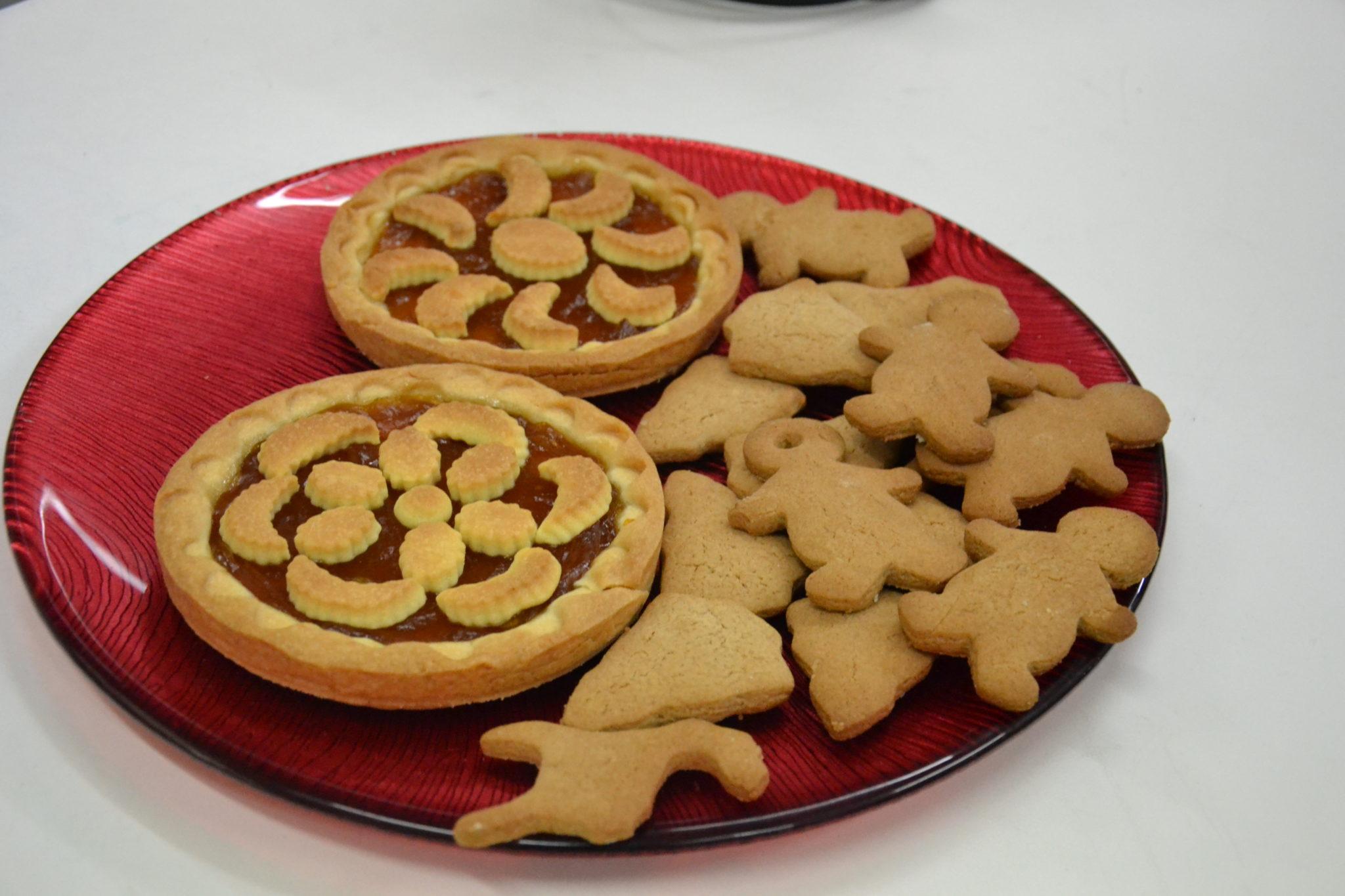 Crostatine e biscotti