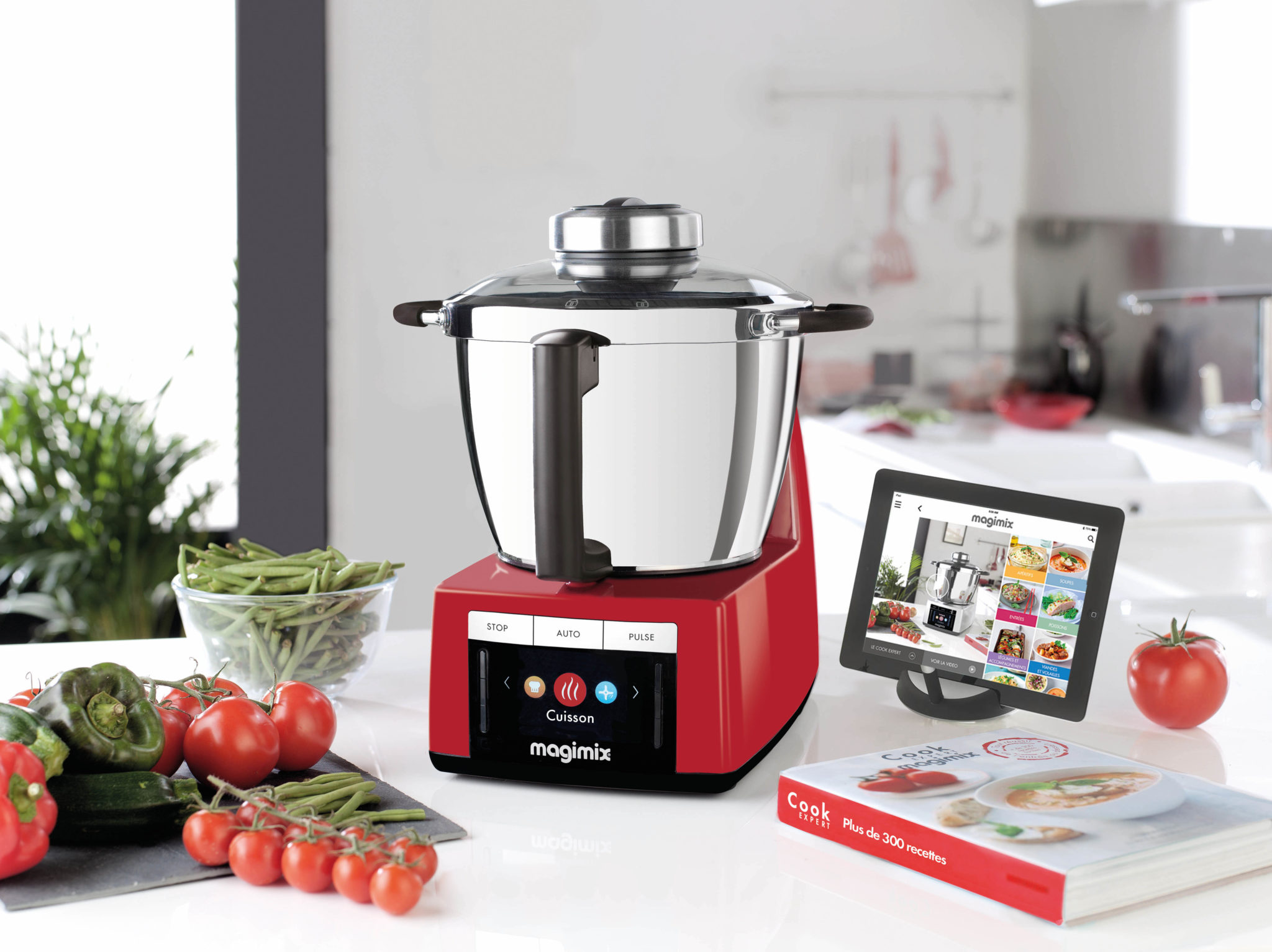 Magimix Cook Expert Rosso