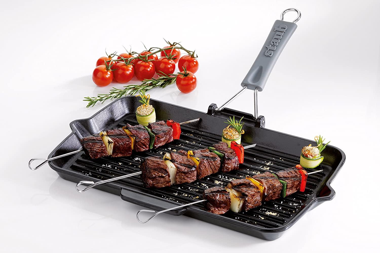 bistecchiere in ghisa staub